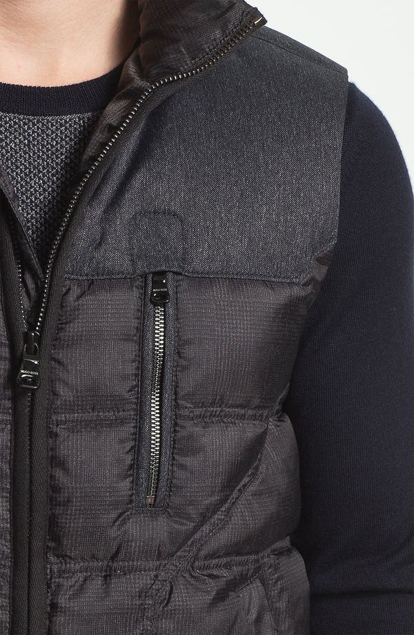 Alternate Image 3  - BOSS Black 'Darnom' Quilted Down Vest