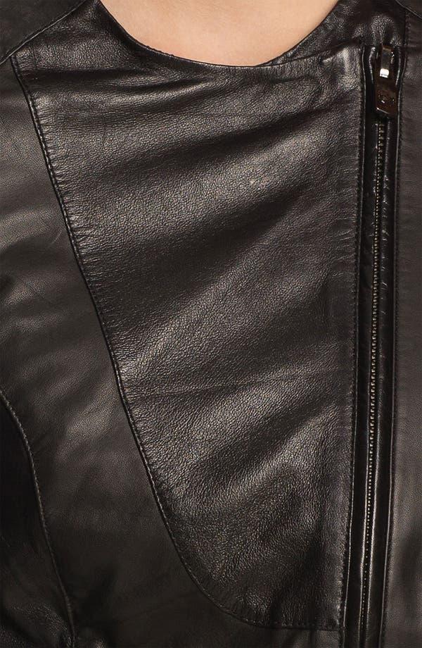 Alternate Image 4  - Bod & Christensen Leather Moto Jacket (Online Exclusive)