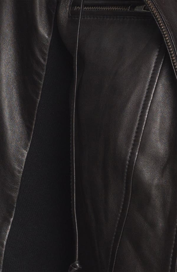 Alternate Image 3  - Trouvé Leather Hoodie
