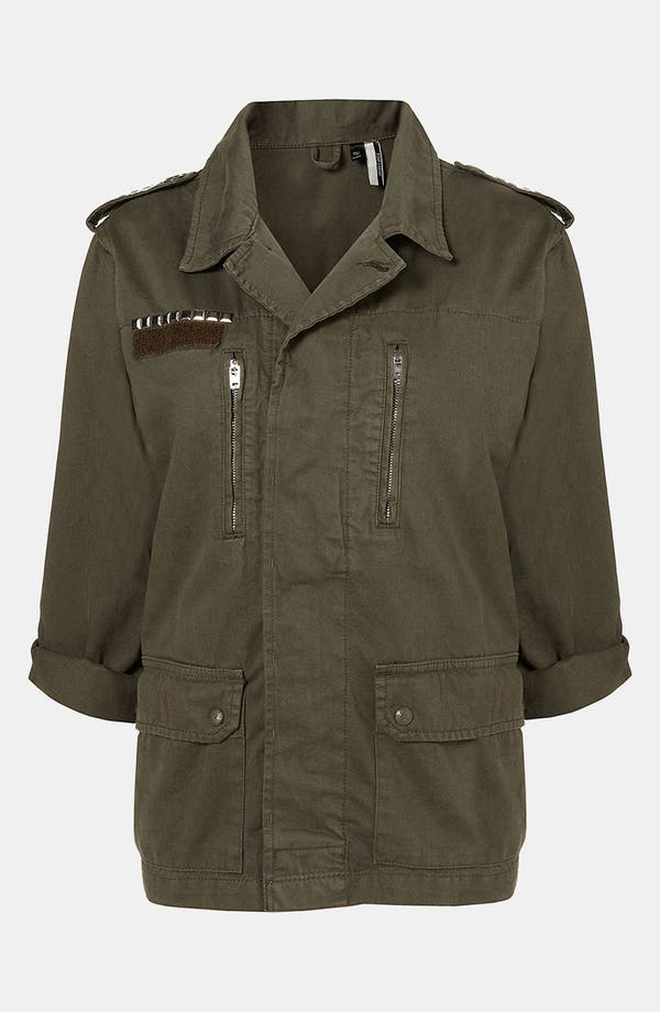 Alternate Image 2  - Topshop 'Army' Jacket