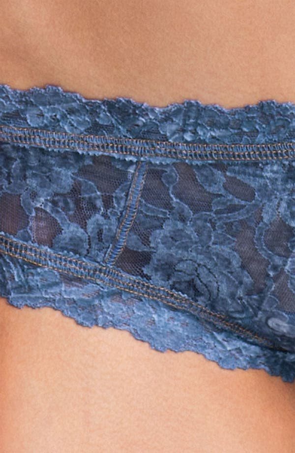 Alternate Image 3  - Hanky Panky 'Signature Lace' Cheeky Hipster Briefs