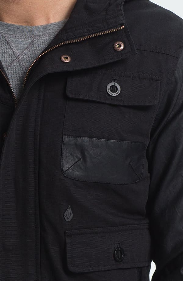 Alternate Image 3  - Volcom Faux Leather Trim Jacket