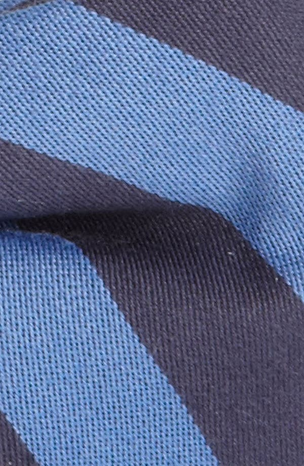 Alternate Image 2  - 1901 Stripe Bow Tie
