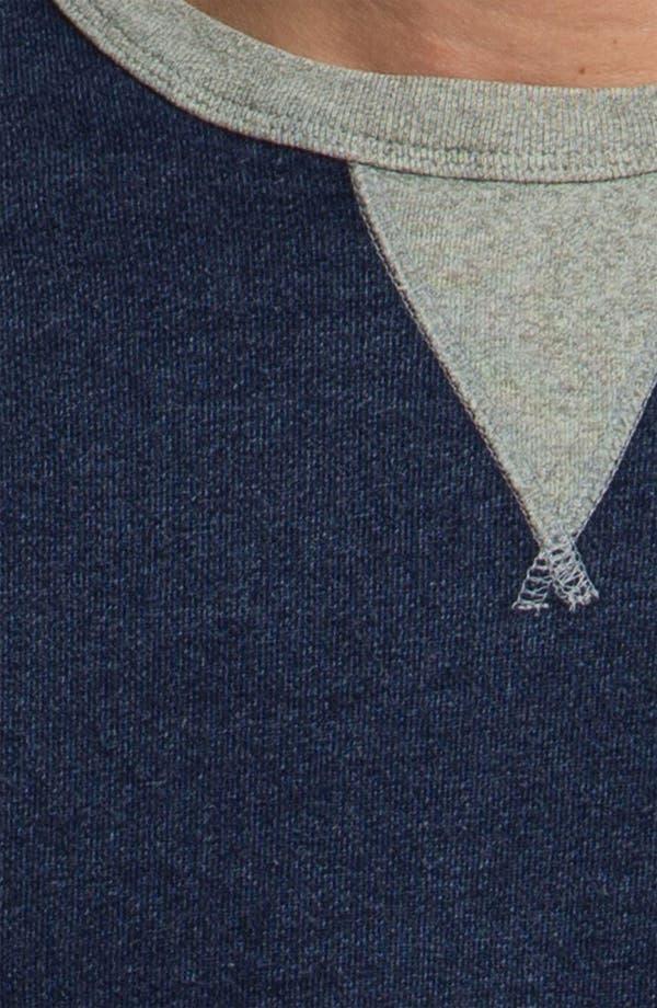 Alternate Image 3  - AG Jeans Long Sleeve Crewneck Pullover