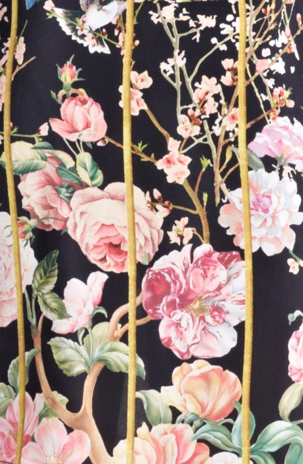 Alternate Image 3  - Thakoon Birdcage Print Silk Dress