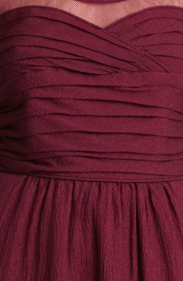 Alternate Image 3  - Burberry London Sleeveless Crinkle Chiffon Dress