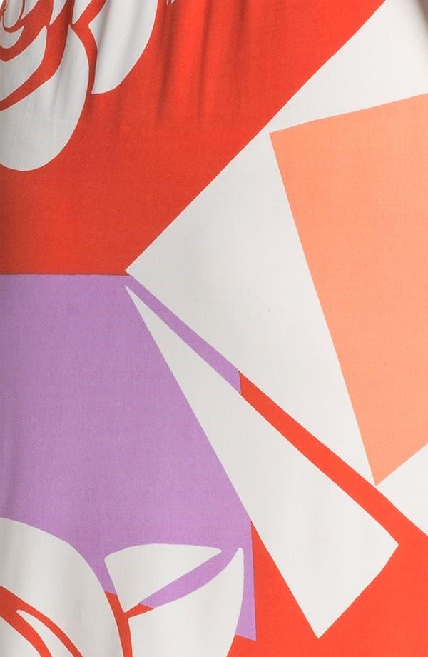 Alternate Image 3  - Donna Morgan 'Tinsley' Print Faux Wrap Dress