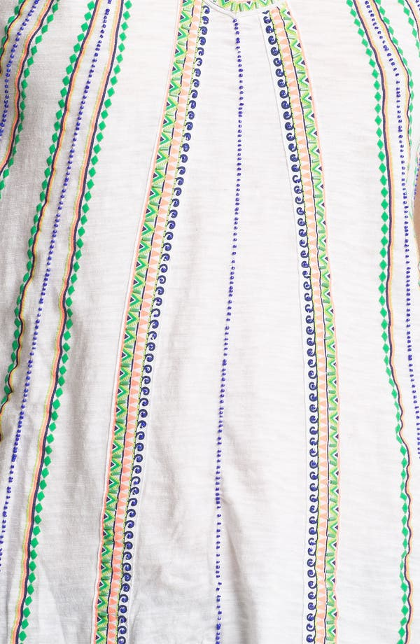 Alternate Image 3  - Free People 'Boho Meadow' Embellished Peasant Tee