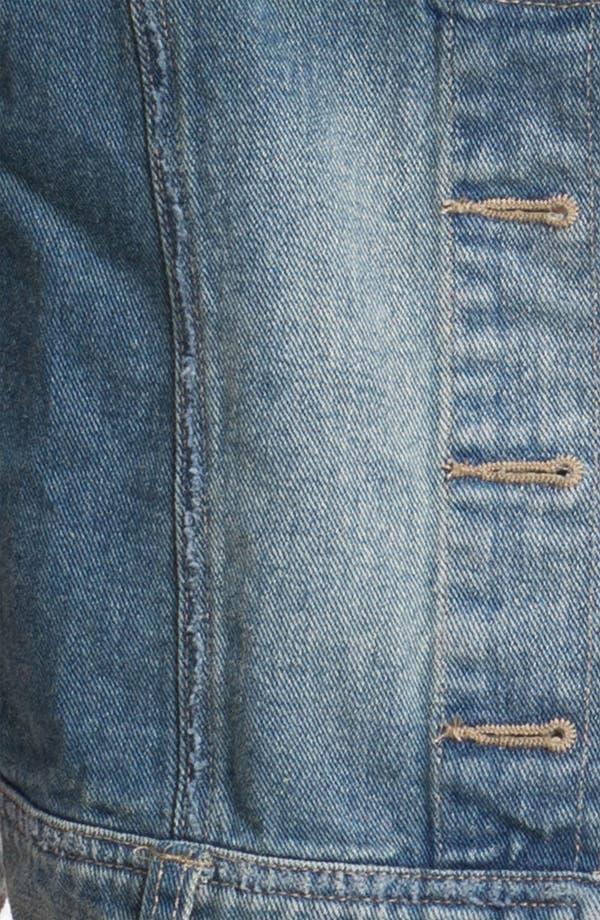 Alternate Image 3  - Free People Battenburg Lace Back Denim Vest