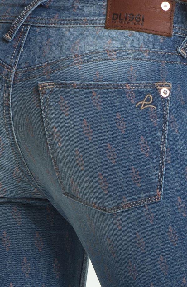 Alternate Image 3  - DL1961 'Amanda' X-Fit Stretch Print Denim Skinny Jeans (Greenville)