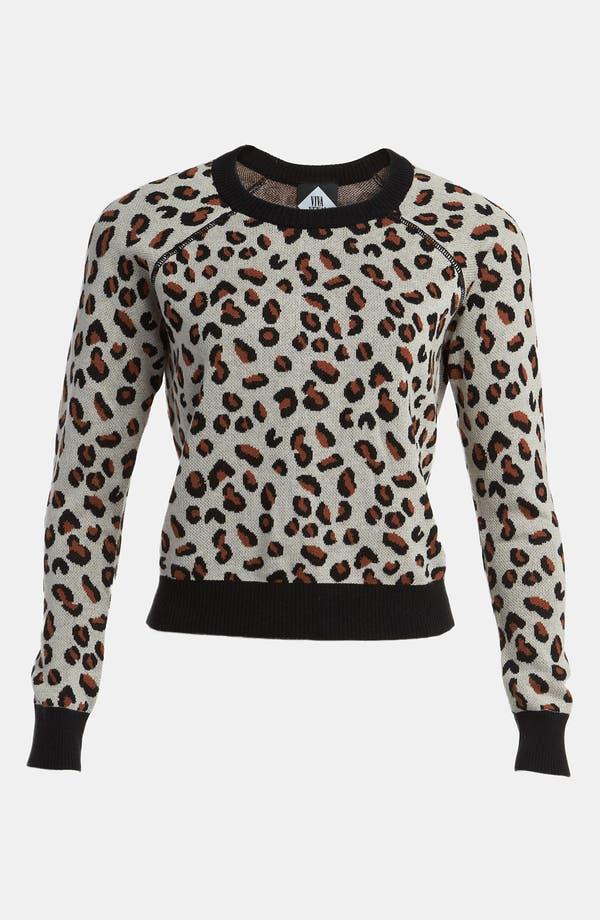 Main Image - Viva Vena! Cheetah Print Pullover