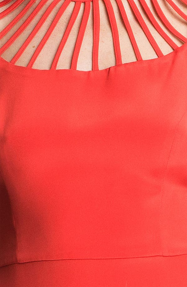 Alternate Image 3  - Parker 'Syrah' Silk Fit & Flare Dress