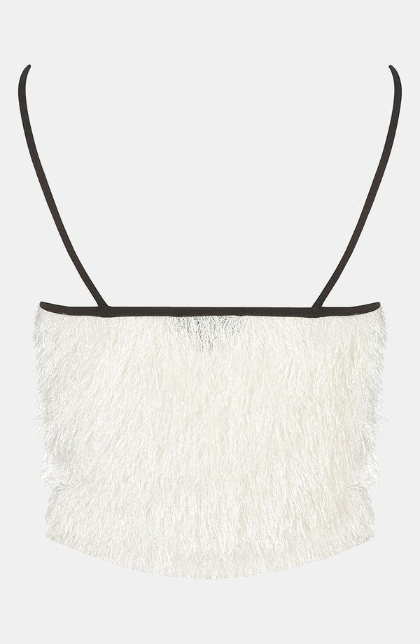 Alternate Image 2  - Topshop Feather Knit Camisole