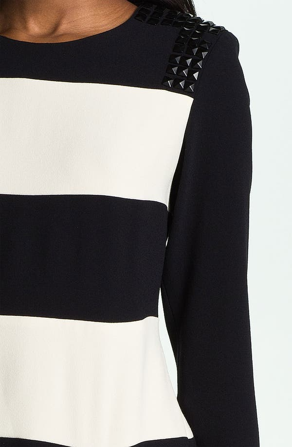 Alternate Image 3  - Skaist-Taylor 'Rosie' Stud & Stripe Dress