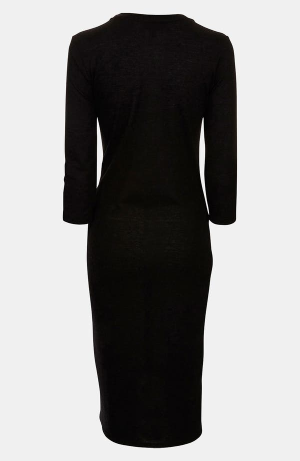 Alternate Image 2  - Topshop 'Fleck' Knit Maternity Dress