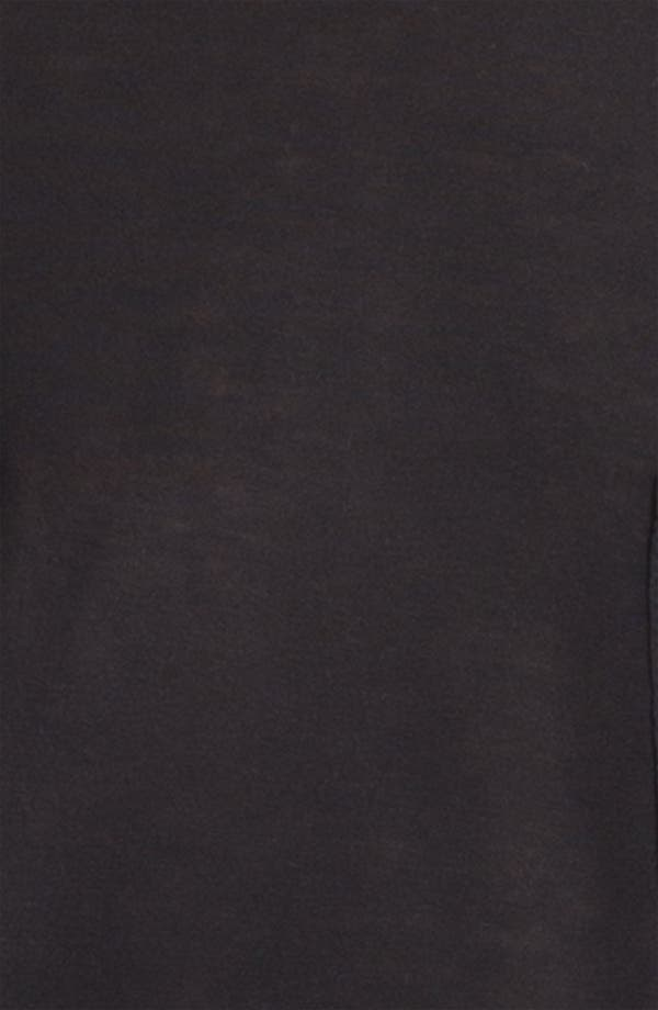 Long Sleeve Pocket Tee,                             Alternate thumbnail 3, color,                             Black