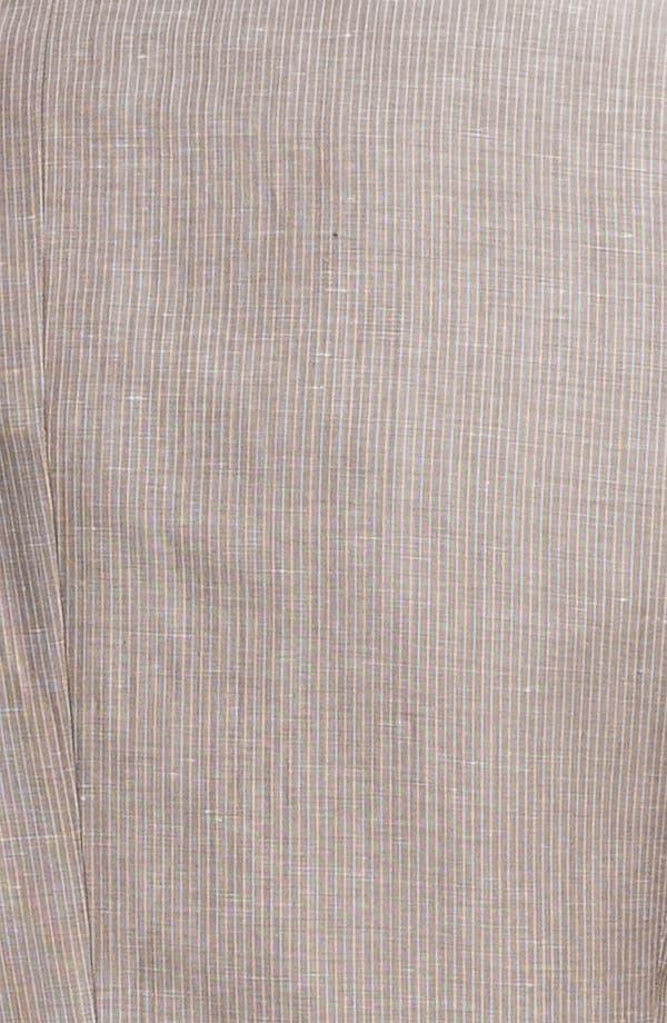 Alternate Image 6  - BOSS Black 'Hedge/Gense' Trim Fit Stripe Suit