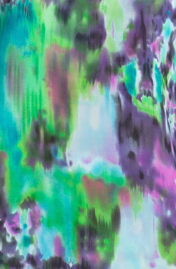 Alternate Image 3  - Kay Celine Watercolor Chiffon V-Neck Tank