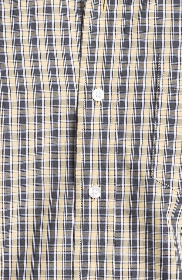 Alternate Image 3  - Cutter & Buck 'Midvale' Check Sport Shirt (Big & Tall)