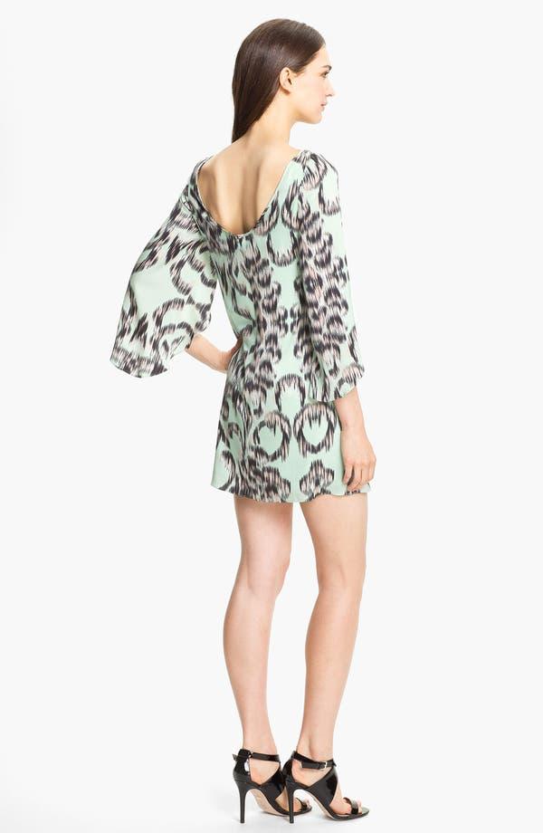 Alternate Image 2  - Milly Stretch Silk Shift Dress