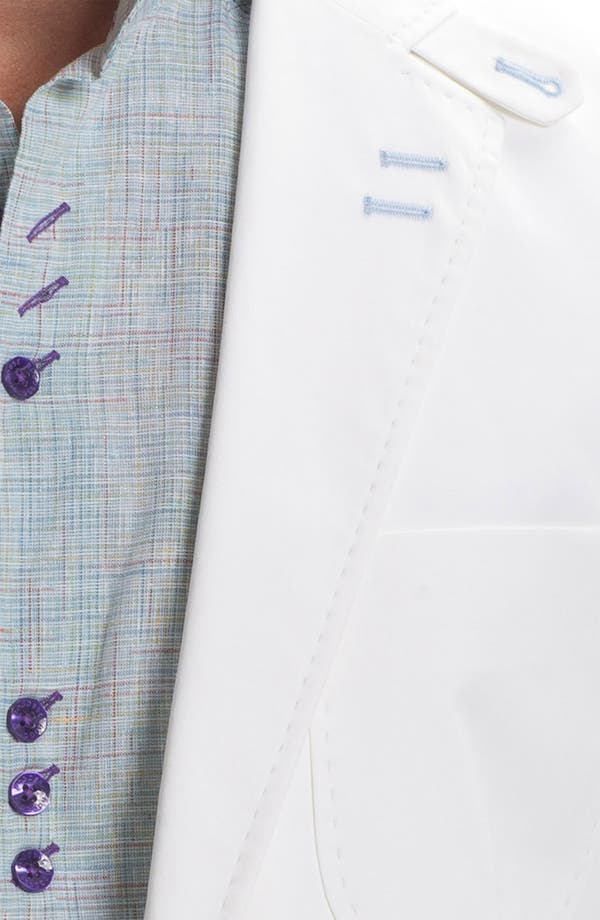 Alternate Image 3  - Bogosse 'Russ 01' Trim Fit Cotton Blazer