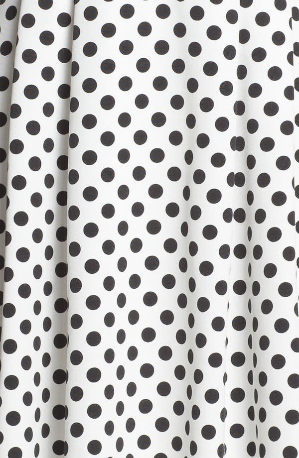 Alternate Image 3  - Adrianna Papell Polka Dot Fit & Flare Dress
