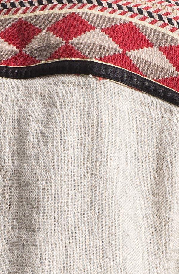 Alternate Image 3  - Maison Scotch Faux Leather & Ikat Trim Field Jacket