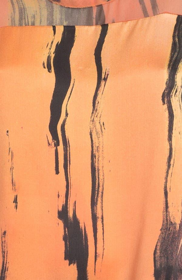 Alternate Image 5  - Elizabeth and James 'Kari' Print Silk Top
