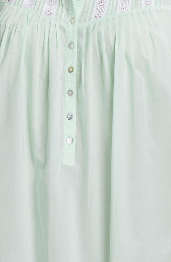 Alternate Image 3  - Eileen West 'Morning Dew' Nightgown (Plus)