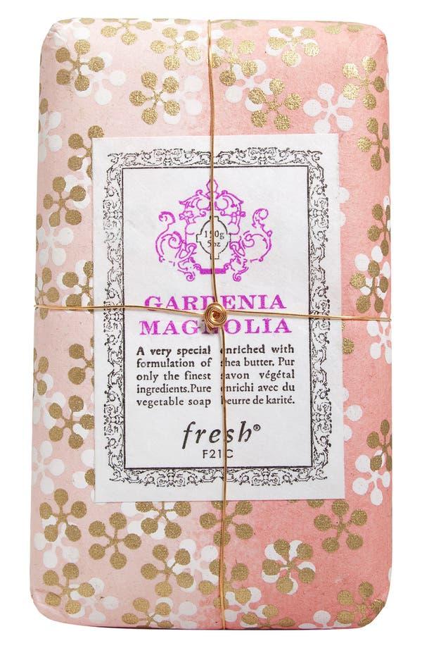 Gardenia Magnolia Petit Soap,                             Main thumbnail 1, color,