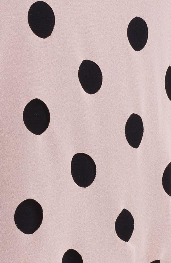 Alternate Image 3  - Olive & Oak Dot Front Blouse