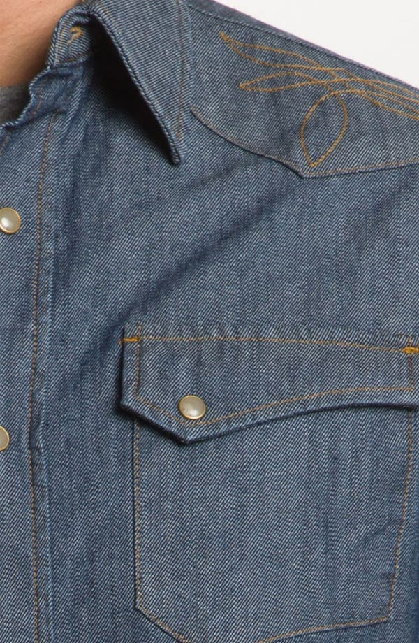 Alternate Image 3  - Pendleton Fitted Denim Shirt