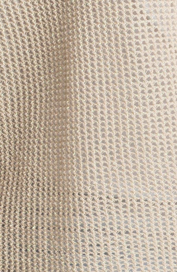 Alternate Image 3  - Trouvé Mesh Knit Cardigan