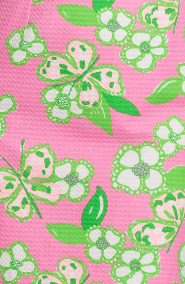 Alternate Image 3  - Lilly Pulitzer® 'Nina' Print Jacquard Cotton Dress