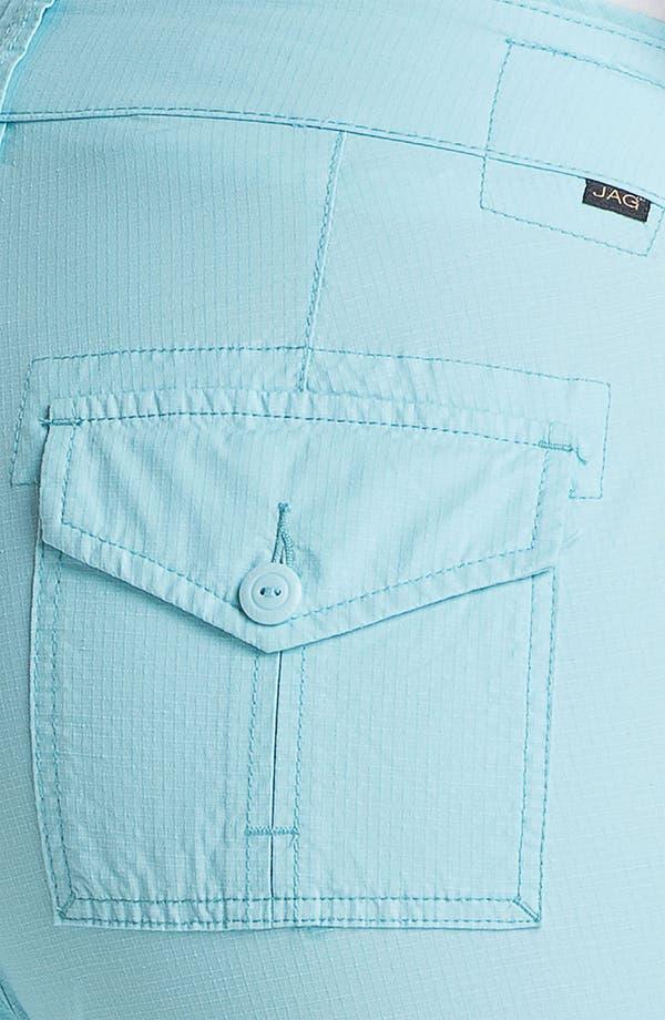 Alternate Image 3  - Jag Jeans 'Ennis' Crop Ripstop Pants (Plus Size)
