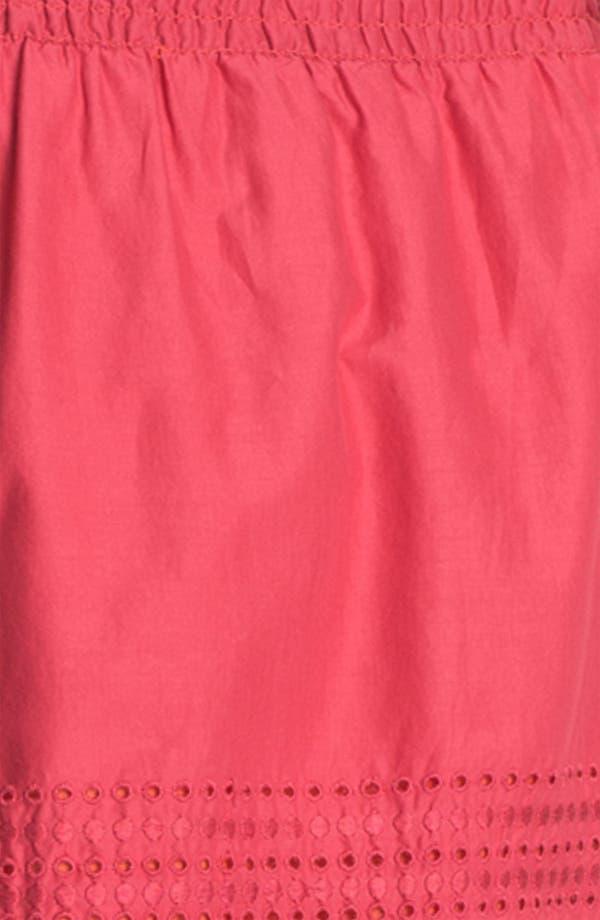 Alternate Image 3  - Caslon Eyelet Cotton Skirt