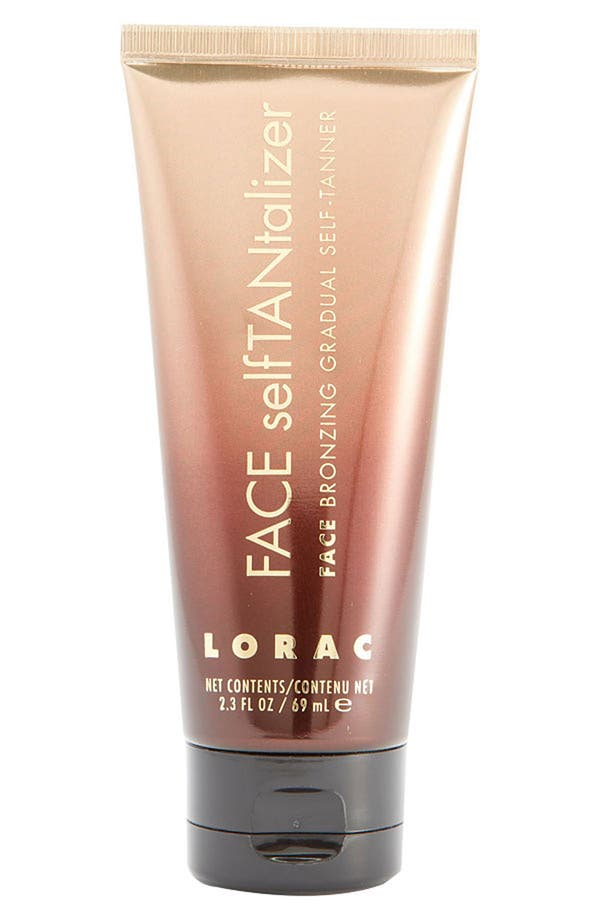 Alternate Image 1 Selected - LORAC 'selfTANtalizer' Face Bronzing Gradual Self-Tanner