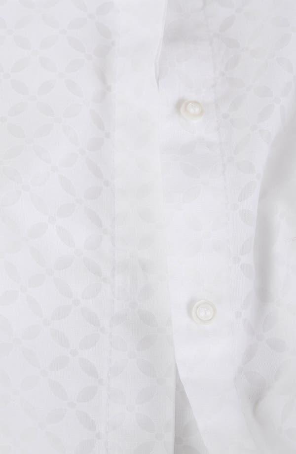 Alternate Image 3  - Topshop Geo Lace Shirt
