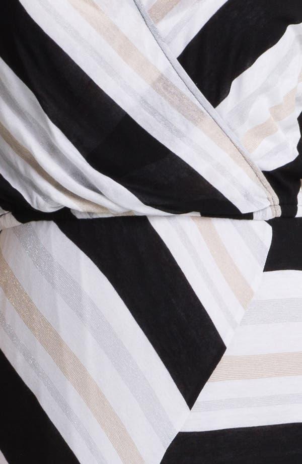 Alternate Image 3  - Ella Moss Stripe Surplice Maxi Dress