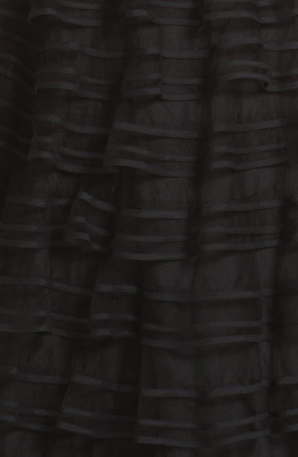 Alternate Image 3  - Kathy Hilton Sleeveless Tiered Mesh Dress