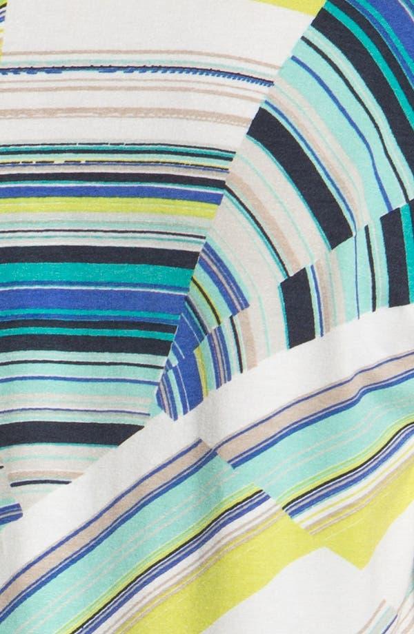 Alternate Image 3  - Karen Kane Print Cowl Neck Top (Plus Size)