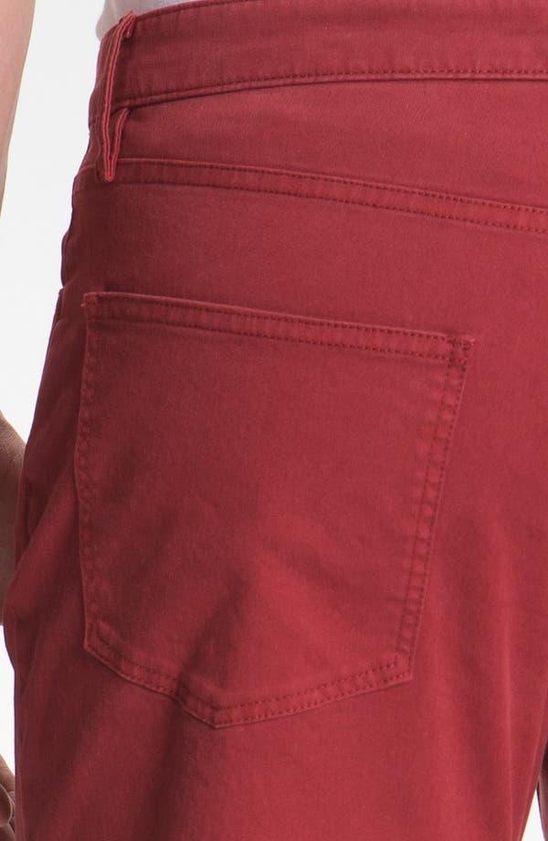 Alternate Image 3  - Burberry Brit 'Southwell' Straight Leg Twill Pants