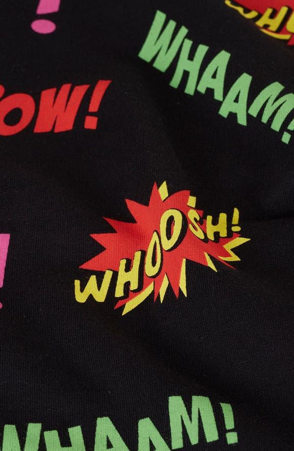 Alternate Image 2  - Topshop Comic Book Print Sweatshirt