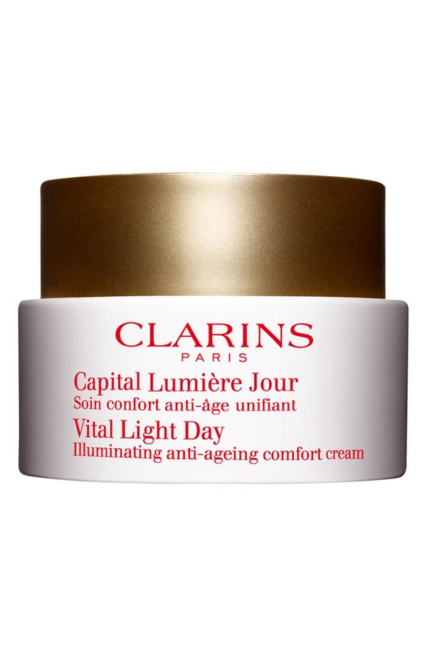 Alternate Image 1 Selected - Clarins 'Vital Light' Day Cream for Dry Skin