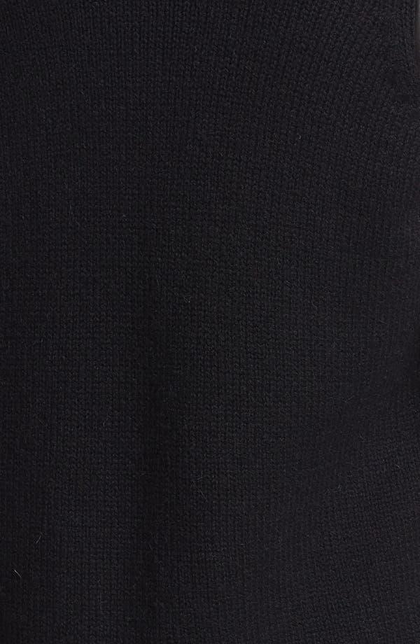 Alternate Image 3  - Vince Leather Sleeve Cardigan