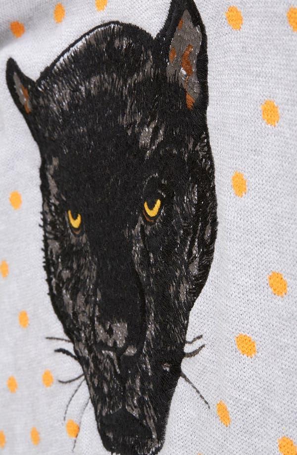 Alternate Image 4  - Topshop Panther Motif Sweater