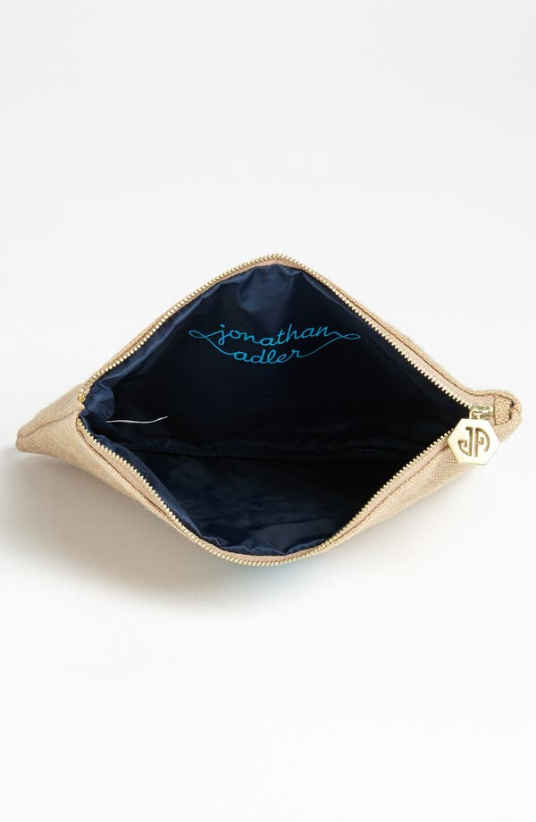 Alternate Image 3  - Jonathan Adler 'Anchor' Canvas Pouch