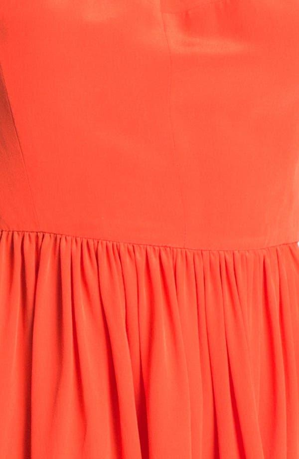 Alternate Image 3  - Rebecca Taylor 'Demi Femme' Silk Fit & Flare Dress