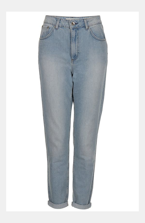 Alternate Image 5  - Topshop Moto 'Kiri' Acid Wash Jeans