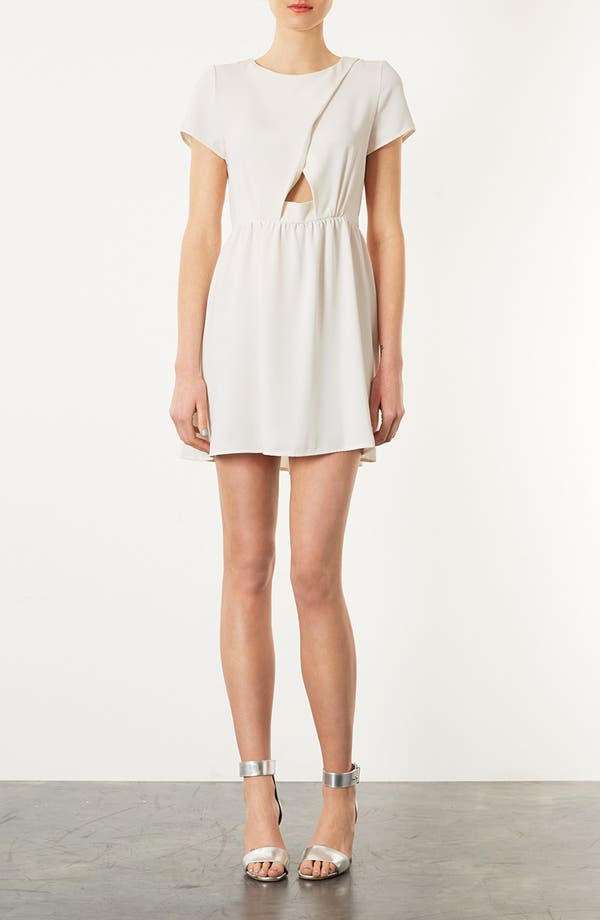 Alternate Image 1 Selected - Topshop 'Florence' Crepe Dress